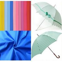 Best 190t polyester taffeta waterproof umbrella fabric for curtains wholesale