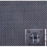 Quality Epoxy Resin Coated Aluminum Window Screen Netting Black For Hotels / Restaurants for sale