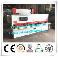Quality 10x3200 NC Hydraulic Shearing Machine Swing Type Electric Controller System for sale