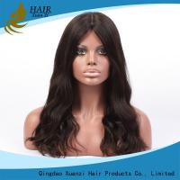 Quality 7A No Chemical Full Lace Human Hair Wigs Soft  Silky Loose Wave No Shedding for sale