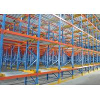 China Pallet Flow Rack Storage Systems on sale