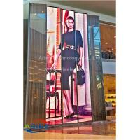 China Transparent LED Display H7.81mm V15.625mm ,Glass Wall Screen p3.91,P7.81,P8,P10mm , AEISEL on sale