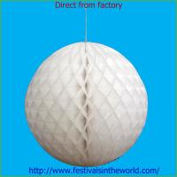 Best home decoration honeycomb ball white wholesale