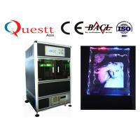 China 532 Nm 3D Laser Glass Engraving Machine 300x400x130 Mm For Crystal Glass on sale