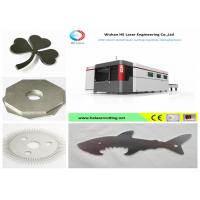 Best High - Speed Big Format Fiber Laser Cutting Machine For Hard Metals , Stable Performance wholesale