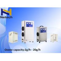 Quality Stainless Steel Water Ozone Generator Water Purification / Air Purifier With ORP Meter for sale