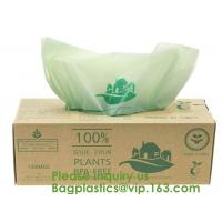 Quality 100% Certified Biodegradable Compost Bags, Food Waste Bags,Food grade compostable coffee bags,Biodegradable Stand Up Cof for sale