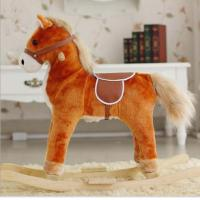 Quality New Children Rocking Horse With Sound And Moving Mouth and Tail And Led Light Big Size for sale
