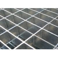 Quality Flattened Fireplace Pressure Lock Grating Untreated Black Finish Surface for sale