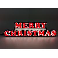Best Indoor / Outdoor LED Christmas Neon Sign For Countertop / Wall mounted wholesale