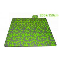 Quality Anti Sand Picnic Blanket Waterproof Backing With High Abrasion Resistance for sale