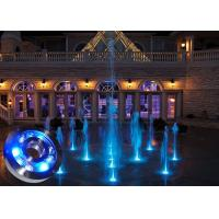Buy cheap DMX RGB IP68 Underwater LED Fountain Lights Anti Corrosion for Garden from wholesalers