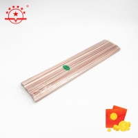 Quality BCu92P 2.0*500mm Copper Brazing Rod For Welding for sale