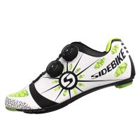 China Men'S Carbon Road Bike Shoes , Carbon Road Cycling Shoes Sole Light Weight on sale