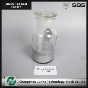Self Dry Silver Top Coat Zinc Aluminium Flake Coating Acid Resistance PH 3.8-5.2