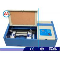 China Acrylic Leather Mini Laser Cutting Machine Portable Laser Cutter 40w / 60w on sale