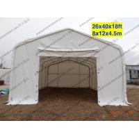 Quality White Waterproof PVC Canopy Tent AC System Temporary For Outside Patry / Tempporary Military Tent for sale