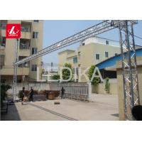 China Rotating Lighting LED Display Truss Goal Post Banner Truss Tower System 24 Hours Service on sale