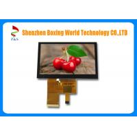 Quality 4.3-inch TFT LCD touch Screen with PCAP, 40 pins RGB interface, 450 nits, 480*272 resolution, 16.7M color for sale