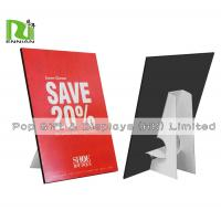 Quality Customized A4 Size Cardboard Standee Advertising Paper Pop Display for sale