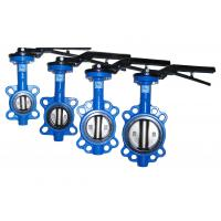 Quality SS304 D71XPN16 Soft Seal Center Line Wafer Type Butterfly Check Valve for sale