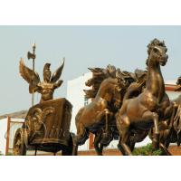 China 2016 high quality metal crafts bronze horse statue on sale