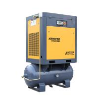 Quality Excellent quality 7.5 KW 10 HP air tank mounted  screw air compressor for sale