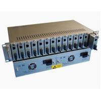 Buy cheap 14 Slots Rack Metal Fiber Media Converters,Large power supply capacity from wholesalers
