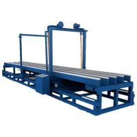Quality High Efficiency A Type Eps Foam Cutter 1250 Mm Cutting Width Compact Structure for sale