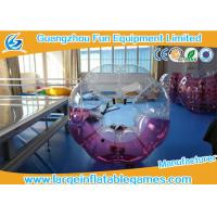 Quality Popular Size 1.2m / 1.5m /1.8m TPU Inflatable Bubble Football / Soccer For Fun Games for sale