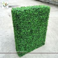 Best UVG GRS03 indoor decorated plastic artificial boxwood hedge for party landscaping wholesale