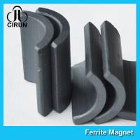 Quality Y30 Grade Permanent Ferrite Arc Magnet For DC Motor Multipurpose Use for sale