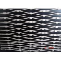 China Popular Flexible Wire Mesh Netting/ Stainless Steel Wire Rope Ferrule Mesh on sale