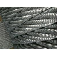 China Marine Grade PVC Stainless Steel Wire Ropes Electro Glav 317L , 321 With Tensile Strength on sale