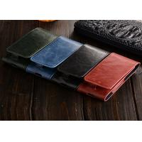 China Stylish Blue Leather E Cigarette Case / IQOS Electronic Cigarette Leather Cover on sale