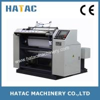 China Adhesive Label Slitting Machine,High Precision Operate Ticket Slitter Rewinder,Thermal Paper Slitting Rewinding Machine on sale