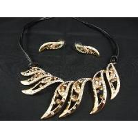 Buy cheap Fine Gold Jewelry Set (JS-027) from wholesalers