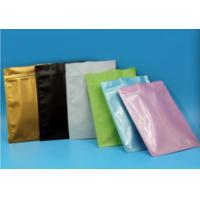 Best Professional Vivid Printing Kraft Brown Paper Bags With Zipper Foil Lined wholesale