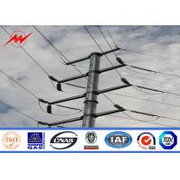 Buy cheap Galvanized Steel Tubular Pole For Electrical Distribution Line Project from wholesalers