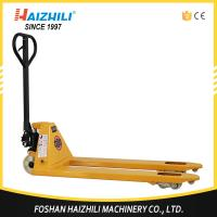 Quality Haizhili China Hot Sale DF pump 550mm 2.5 ton hand pallet jack with CE and ISO Certificate for sale