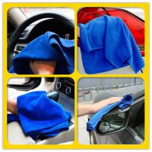 Quality 30x30cm Microfiber Car Towel Car Cleaning Car Washing Cloth Clean Cloth for sale