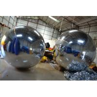 Quality Charming Advertising Inflatable Mirror Ball Theme Park Family Toys for sale
