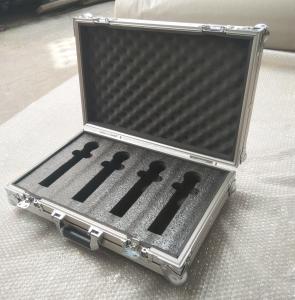 Quality Silver Color Light  Weight Aluminum Flight Case Mixer Plywood + Aluminum Material dDJ Mixer Flight Cases for sale