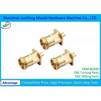 Quality Customized CNC Brass Parts PDF Drawing Format  ISO9001 Certification for sale