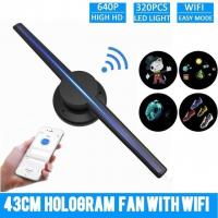 Quality 3d Image Projection Hologram , Hologram Video Projector Wide Viewing Angle for sale