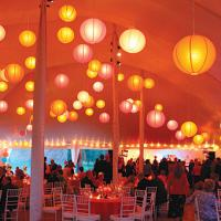Buy cheap flying lantern wedding yellow and black red paper accessories balls white paper lanterns for a holiday from wholesalers