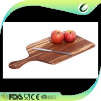 Quality wholesale black walnut wood chopping block with drip groove for sale