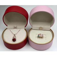 Quality Multipurpose Recordable Jewelry Display Box Round Shape Easy Maintain for sale
