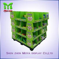 Best OEM Ponit Of Purchase Cardboard Pallet Display For School Stationery , 4 Sides Printed wholesale