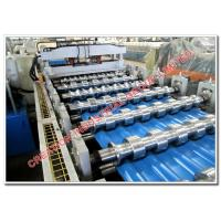 China Aluminium Metcopol and Step-tiles Roofing Sheet Corrugating Machine on sale